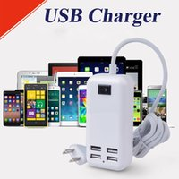 USB Adaptateur secteur Chargeur mural USB 15W Chargeur universel 4 ports Micro USB <b>Charge Sync Dock</b> Chargeur USB Desktop OTH313
