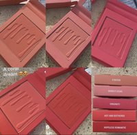 Wholesale Natural Rate - In stock! 2017 NEW Kylie Cosmetics Kylie Jenner Pressed Blush Powder In X Rated Kylie Blush free ship