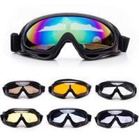airsoft gözlüğü toptan satış-ROBESBON X400 Anti-sis UV Kış Açık Spor Snowboard Airsoft Paintball Koruyucu Gözlük Gözlük Motosiklet Kayak Gözlük