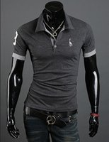 Wholesale Mens Casual Polo Shirts - Hot Selling Brand New Mens Polo Shirt Men Cotton Polyester Polo Shirts Short Sleeve shirt with Top Quality