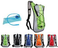 sistema de hidratação bladder backpack venda por atacado-Esportes ao ar livre Saco de Água Ciclismo Bicicleta Mochila de Bicicleta Mochila de Água 5L Bump Hump Mochila TPU Sistema de Hidratação Bolsa para Caminhadas Escalada