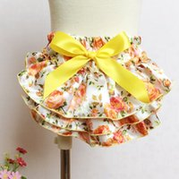 Everweekend Girls Baby Bow Floral Ruffles PP Pants Sweet Children Летняя одежда Vintage Korea Fashion Детская одежда