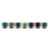 Epoxy Resin Drip Tip ss fittings - NEW TFV8 Drip Tips SS Epoxy Resin Fit Vape TFV8 Atomizer Tank Stainless Steel Epoxy Resin Wide Bore Mouthpieces