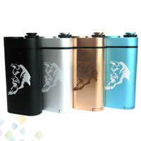 Wholesale large mods online - Newest Abaddon Box Mod Huge Cloud fit Dual Battery Mechanical Mod Thread Large Power Abaddon Mod E Cig DHL Free