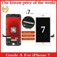 Wholesale Grade A Quality LCD Screen For Iphone c s plus LCD Touch Display Screen Digitizer Assembly White Black dhl free