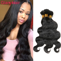Glary Products Brazillian Body Wave Mink Virgin Hair Weave Raw Brésilien Cheveux Humains Bundles Wet And Wavy Brazilian Hair Bundles Mix Longueur