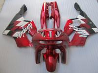 1996 kawasaki ninja zx6r großhandel-Neue heiße moto teile Verkleidung kit für Kawasaki Ninja ZX6R 1994-1997 weinrot verkleidung set zx6r 94 95 96 97 OT10