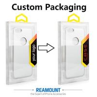 rhinestone-plastik-handyfall großhandel-100 stücke Heißer Verkauf Handy Fall Paket PVC Kunststoff Einzelhandel Verpackung Box für iPhone 7 plus 6 Plus Fall Abdeckung