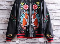 Wholesale Leather Jacket Brand For Women - Luxury Brand Designer hoodies for men women Italy Fashion Snake Donald Duck Tiger Print Men's Hoodies & Leather clothing Palace mens jackets