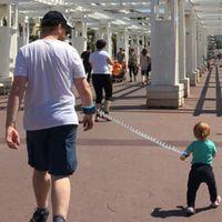 ingrosso corda per bambini-Toddler Baby Kids Imbracatura di sicurezza Taglio continuo del guinzaglio per bambini Anti-Lost Link da polso Traction Rope Locktraction