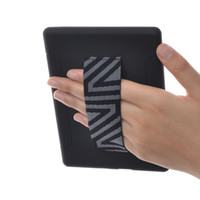 Wholesale E Readers Kindle - TFY Hand Strap Holder with Case Cover for 6 inch Kindle E-reader,Black Kindle Fire