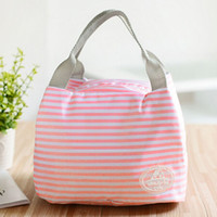 Wholesale Insulated Zipper Tote - Summer Hot Sell Portable 2017 Fashion Insulated Floral lunch Bag Thermal Food Picnic Lunch Bags Cooler Lunch Brand Bag Tote