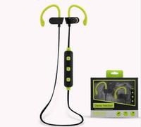 Wholesale Bluetooth Aptx - 4.1 Bluetooth Headset Headphones Wireless earphone ear phone Headphone Microphone AptX Sport headstes Earphone for iPhone Android Phone
