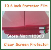 Wholesale Laptop Lcd Screens Universal - Wholesale- 10pcs Universal 10.6 inch Clear LCD Screen Protector with Grid Protective Film for Tablet PC Laptop Notebook No Retail Package