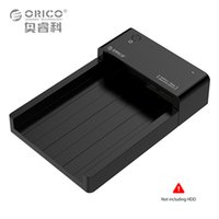 Wholesale Hdd Dock Orico - Wholesale- ORICO Tool Free 2.5 3.5 inch HDD SSD Docking Station USB3.0 to SATA External HDD Case Support 8TB Drive (6518US3)