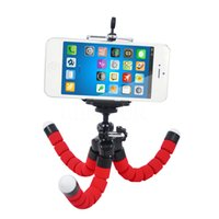 MOQ: 100pcs Mini Flexible Camera Phone Holder Flexible Octopus Trépied Support Support Support Support Monopod Styling Accessoires