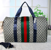 Wholesale Duffle Bag Man Leather - 55cm Family Mens Linen Large capacity Duffel Bag Travel Duffle Travel tote for men Weekender Luggage Bags Sac de Voyage hommes