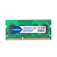 Wholesale 2gb Ddr3 Memory Laptop - Free Shipping 1Pcs Lot 100% New 2G DDR3 DDR3L 1600 1333 1066 LoVo RAM Laptop Computer Memory 2GB 1600MHz 1333MHz 1066MHz Dual Channel