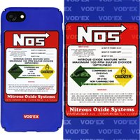 Wholesale Nos Stickers - Vodex cases NOS Fluorescent Water Sticker Mobile Case 3D Relief for iPhone7 plus cases