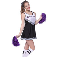 Wholesale carnival girl costume - Girl Dress Special Occasions Cheerleader Dress Girl and Adult Cheerleader Costume 6 Colors 6 P L