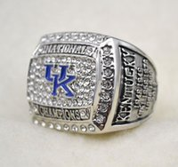 Wholesale University Rings - 2012 University of Kentucky Wildcats National Championship ring Replica size 11 US best gift for fans collection