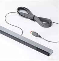 Wholesale nintendo wire - RVL-005 W-I-I Wired Infrared IR Signal Ray Sensor Bar Receiver for Nintendo for Wii U WiiU Remote