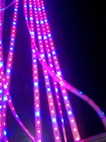 étincelant conduit pousser des lumières achat en gros de-5m 5050 SMD Systèmes hydroponiques Led Plant grow lumière imperméable à l'eau Led Grow Strip Light 300LEDS 72W 4 rouge 1 bleu Plein spectre Grow Box dropship