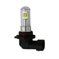 h8 sarı toptan satış-12-20 V 40 w H8 H11 9005 9006 h16 özel araba ile led araba ampulleri sis lambası lambası