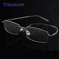 quadro óptico de titânio de memória venda por atacado-Atacado-moda memória titanium óculos homens mulheres espetáculo óculos de armação para óculos de negócios miopia óculos de prescrição óptica