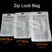 Wholesale Clear Universal Cell Phone Boxes - Ziplock bag Retail Package for iPhone Case Plastic Clear Packing Bags Cell Phone case Zipper Retailed Packaging Box