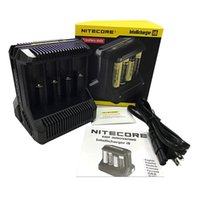 Wholesale nitecore battery charger for sale - Group buy 100 Authentic Nitecore I8 Charger Slot for etc Rechargeable Batteries DHL