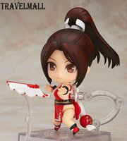 Wholesale Mai King Fighters - TraVelMall New in Box Anime Mai Shiranui 684# 10cm PVC Action Figure Toy Doll Model for The King of Fighters KOF kids gift