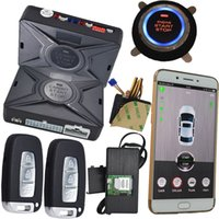 Wholesale Gsm Mobile Alarm System - online gps gprs tracking system car alarm security gsm mobile app control car keyless entry start stop engi