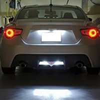 Wholesale Gt 86 - Error Free 24 SMD 3528 LED License Plate Light Lamp For Subaru BRZ (DBA-ZC6) Legacy Toyota 86 GT-86 FT-86 (NC6)