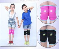 Vente en gros- Haute qualité Kids Ski Sports Kneepads Baby Crawling Sécurité Enfants Dance Knee Support Sports Knee Pads 2pcs / lot