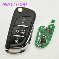 Wholesale Buick Remote - KD900 3 button remote key DS style NB-ETT-GM used for Buick,Chevrolet,Opel etc with ID46 chip 5pcs lot free shipping