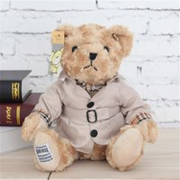 Wholesale August Specials - 161129 Teddy Bear Korean Museum Korean B Dress Teddy Bear Doll New Year Valentine's Day Girlfriend Gift August Specials New Products