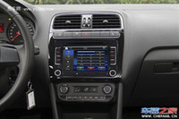 Sistema inteligente Car Multimedia Player 2 Din Car Dvd Player Pc Gps Navegação Estéreo Vídeo Multimedia tela para VW / Volkswagen / Passat / P ...