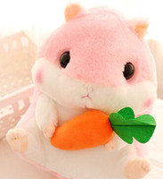 Wholesale Plush Japan - 2017NEW30cm Japan fat hamster plush toy doll, cute hamster stuffed animal childrens' day gift