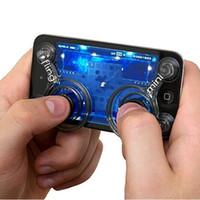 neue touchscreen spiele großhandel-[2pcs = 1set] Zero Beliebiger Touchscreen-Gerät Handyspiel Tablet Joystick Neu - Doppelpack