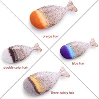 Wholesale Brush Suppliers - Click the link! shenzhen new seris single glitter Fishtail flat roundangled pointed makeup brush by new makeup brush supplier with cloth bag