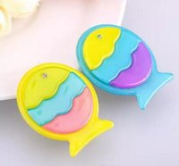 Wholesale Fish Boutique - New styles Kids hair accessories Duckbill clip accessory boutique Hair bows Toddler barrettes Cartoon tropical fish hairpin free shipping