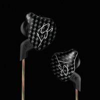 Wholesale Sharp Drivers - Original KZ ZST In Ear earphone Armature Dual Driver Earphones Detachable Cable HiFi Music Sports Earbuds