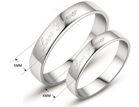 Wholesale Couples Rings Japan - Couples ring opening a hipster , 925 silver, Japan and South Korea female buddhist monastic discipline male monkey get married diamond r