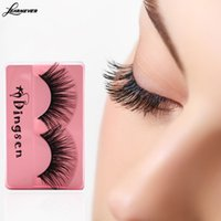 Wholesale Double C Charms - 100 Pair Long Soft Style 3D Mink Lashes Double Layered Thick Charming Lashes