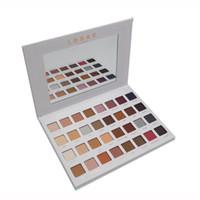 Wholesale lorac pro 32 palette for sale - 2017 Lorac Mega Pro Los Angeles Eyeshadow Palette Shades Vs Shimmer Matte Eye Shadow Palette