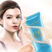 Wholesale 2017 CAICUI Brand New CC Cream Concealer Moisturizing Lasting Whitening Foundation Makeup Skin Care Product CC Cream