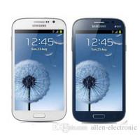 cep telefonu kamera wifi gsm toptan satış-Unlocked orijinal Samsung Galaxy I9082 Cep Telefonu GSM 3G WIFI GPS Çift sim kartları 8MP Kamera Yenilenmiş Cep telefonu