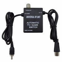 Wholesale Games For Super Nintendo - 3 in 1 Universal RF Unit Adapter Cable Automatic TV Game Switch for Super Nintendo for NES SNES SEGA Genesis