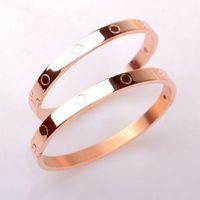 Wholesale Women Pretty - 1pc Pretty Lady Love Bangle Cuff Bracelet&Bangle Buckle Bracelet For Women Gift Jewelry Wholesale